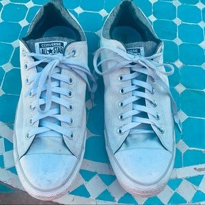 CONVERSE ALLSTAR CHUCK TAYLOR OFF WHITE SNEAKERS